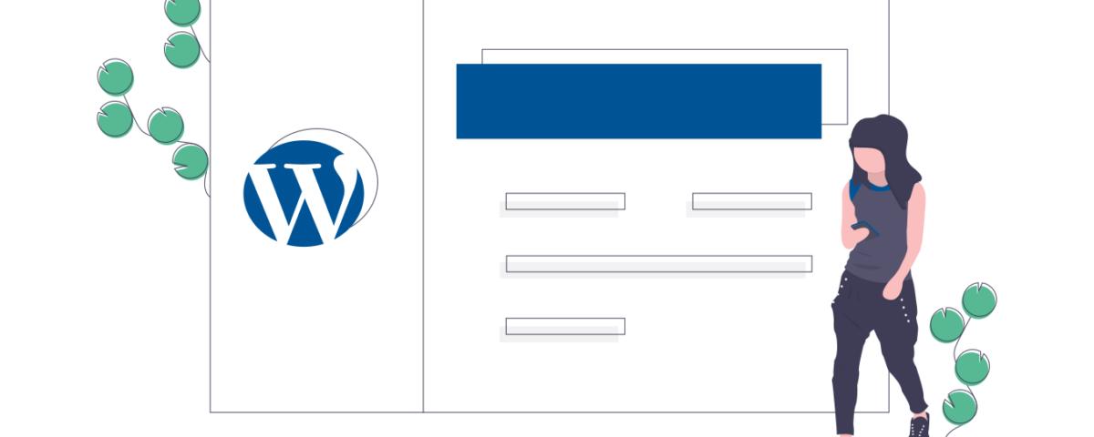 Webbplats byggd i Wordpress